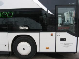 vietos neigaliesiems autobuse