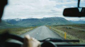 vairuotojas kelyje